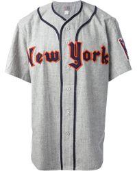 Ebbets Field Flannels - 'ny Knights 1939' Baseball Jersey Top - Lyst