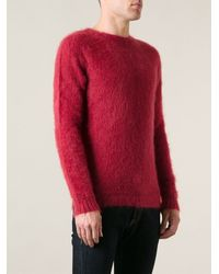Roberto Collina Brushed Sweater - Lyst