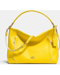Coach Scout Hobo In Colorblock Leather - Lyst