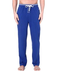Ralph Lauren Retro Lounge Pyjama Trousers Blue - Lyst