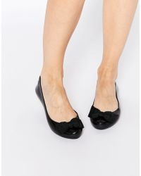 Mel by Melissa - Pop Ribbon Flat Shoes - Lyst