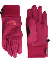 The North Face Womens Power Stretch Gloves - Lyst