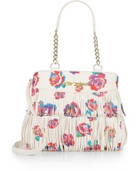 Betsey Johnson - On The Fringe Rose Shoulder Bag - Lyst