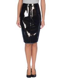 Gareth Pugh Knee Length Skirt - Lyst
