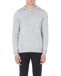 Sandro Moonlight Flecked Hoody Grey - Lyst