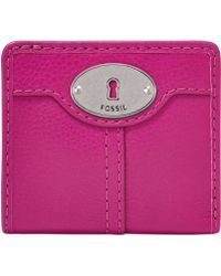 Fossil Marlow Leather Bifold Wallet - Lyst