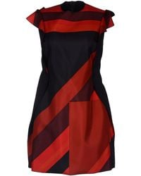 Paul Smith Short Dress - Lyst