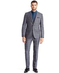 Hugo Boss Hugegenius  Slim Fit Virgin Wool Suit - Lyst