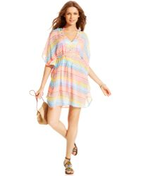 Steve Madden Zig Zag Cover Up - Lyst