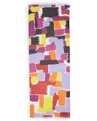 Diane von Furstenberg | Hanovar Modal Watercolor Scarf | Lyst