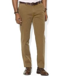 Ralph Lauren Suffield Classic Fit Flat Front Chino Pants - Lyst