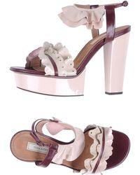 Nina Ricci - Platform Sandals - Lyst
