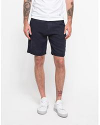 La Panoplie Tencel Shorts blue - Lyst