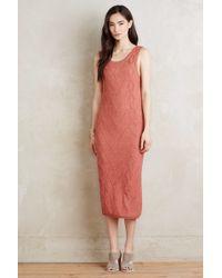 Callahan - Cableknit Maxi Dress - Lyst