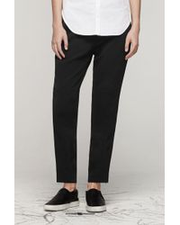 Rag & Bone Black Alpine Trouser - Lyst