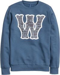 H&M Sweatshirt With A Print - Lyst
