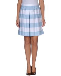 Moschino Cheap & Chic Knee Length Skirt - Lyst