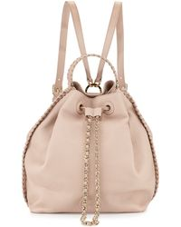 Tory Burch Marion Bucket Backpack - Lyst