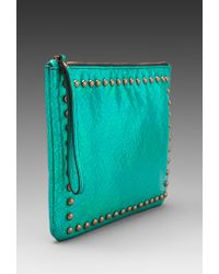 Nanette Lepore | Kisstell Hologram Ipad Case in Teal | Lyst