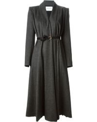 Vionnet Belted Coat - Lyst
