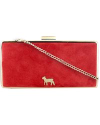 Lamb 1887 - Princess Snow White Red Medium Clutch Bag - Lyst