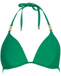 River Island Green Jewel Strap Bikini Bottoms - Lyst