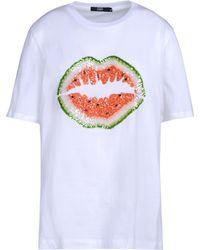 Markus Lupfer Short Sleeve T-Shirt white - Lyst