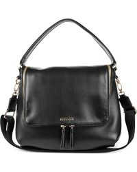 Kenneth Cole Reaction Avery Hobo black - Lyst