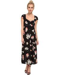 MINKPINK Moon Flower Midi Dress - Lyst