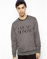 Cheap Monday Sweat with Embroidery - Lyst
