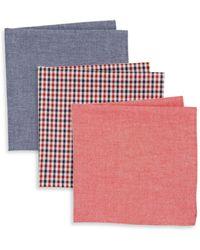 Burma Bibas Cotton Pocket Square Gift Set