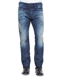Diesel Buster 837a Relaxed Distressed Jeans - Lyst