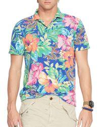 Ralph Lauren Tropical Print Mesh Estate Shirt - Regular Fit - Lyst