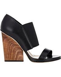 Maiyet - Wooden Wedge-heel Sandals - Lyst