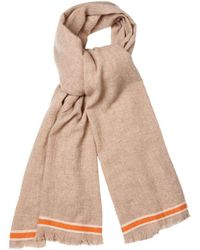 Tomas Maier Striped Cashmere Scarf - Lyst