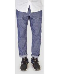Engineered Garments - Fatigue Pant Chambray Dungaree - Lyst