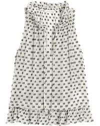 Rebecca Taylor | Sleeveless Box Clip Top | Lyst