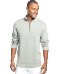 Tommy Bahama Classic Aruba Half-Zip Sweater - Lyst