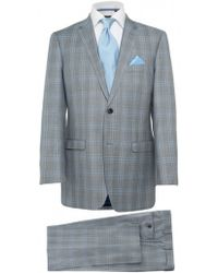 Jules B Check Two Piece Suit - Lyst