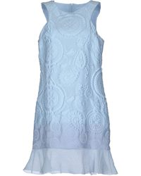 Ermanno Scervino Short Dress - Lyst