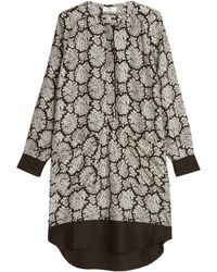 Day Birger Et Mikkelsen Almaz Printed Silk Dress - Lyst
