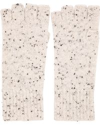 White + Warren - Fingerless Glove - Lyst