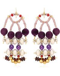 Anita Quansah London - Enya Earrings - Lyst