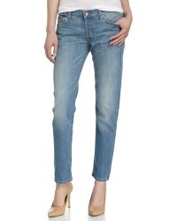 7 For All Mankind Josefina Skinny Boyfriend Jeans - Lyst