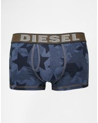 Diesel Under Denim Star Trunks - Lyst