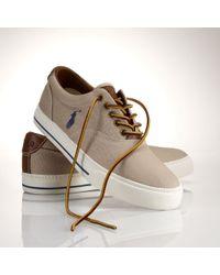 Polo Ralph Lauren Vaughn Canvas Sneaker - Lyst