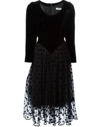 Guy Laroche - Flared Evening Dress - Lyst