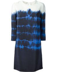 Stella McCartney Blue Penelope Dress - Lyst