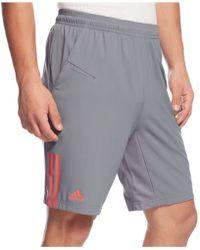 Adidas Response Performance Shorts gray - Lyst