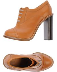 Chloé Lace Up Shoes - Lyst